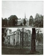 1927 - Inauguration Salve Mater Clinique Psychiatrique Université De Louvain Lovenjoul / Lovenjoel + Menu - 2 Scans - Bierbeek