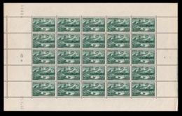 YV 582 N** En Feuille Complete De 25 Timbres Avec Coin Daté Du 21.5.43 - Fogli Completi
