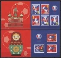 Thailand (2018) - 2 Booklets -  /  World Cup Russia - Soccer - Football - Calcio - Fussball - Fußball-Weltmeisterschaft
