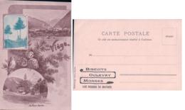 Publicité Biscuits OULEVAY Morges, Viège Et Le Cervin (2088) - Publicité