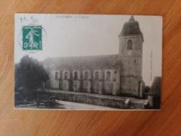 Velesmes L'église Haute Saône Franche Comté - Frankrijk
