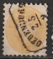 Autriche N° 27, Dent. 9 1/2 Oblitération Oldenburg - 1850-1918 Impero