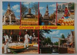 GROENE UIT ALKMAAR - Multiview - Cheese Market  -   Vg - Alkmaar