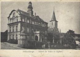 Differdange  -  Hôtel De Ville Et L'Eglise  -  P. Schroeder-Hever,Differdange - Altri