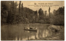 HOUGAERDE PRES TIRLEMONT - Le Canal Des Bogaerds. Une Vue Du Lac - Hoegaarden