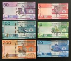 GAMBIA SET 5 10 20 50 100 200 DALASIS BANKNOTES 2019 UNC - Gambia