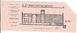 Old Ticket 1963 Split ( 50 Dinars ) - The Underground Halls Of The Palace Of Diocletian - Croatia - Eintrittskarten