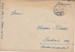 Feldpostbrief Mit Inhalt - FP Nr. 16711 Nach Dachau - 1941 (44700) - Lettres & Documents