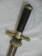 Dague Chasse Couteau Allemand Poignard XIX,old Sword ,alte Säbel - Knives/Swords