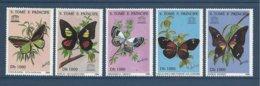 Saint Thomas Sao Tome 1996 Yv. 1264CU/1264CY ** Papillons Butterflies Mariposas Farfalle Schmetterlinge Unesco  COMPLET - São Tomé Und Príncipe