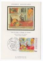 Carte Maximum 1984 - Pierre Bonnard - Coin De Salle à Manger Au Cannet - YT 2301 - Paris - 1980-89