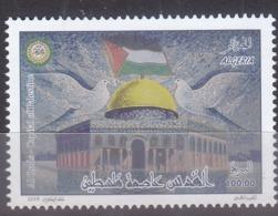 Stamps ALGERIA 2019 Al Quds Capital Of Palestine Flag MNH */* - Algerije (1962-...)