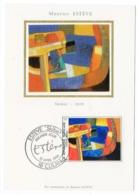 Carte Maximum 1986 - Maurice Estève - Skibet  - YT 2413 - 18 Culan - 1980-89