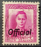 NEW ZEALAND 1946/51 - Canceled - Sc# O94 - OFFICIAL - Officials