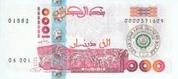 ALGERIA 1000 DINARS 2005 P-143 COMMEMORATIVE ARAB LEAGUE UNC */* - Algeria