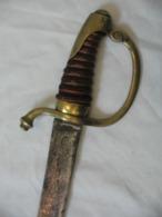 """SABRE DIT """"BRIQUET"""" D'INFANTERIE DE LA GARDE IMPÉRIALE, 1er Empire Napoleon, Old Sword - Knives/Swords"""