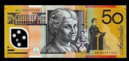 AUSTRALIA 50 DOLLARS 2005/2013 P 60 POLYMER UNC - Emissioni Governative Decimali 1966-...