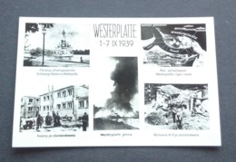 Poland Pologne Polen Gdansk Danzig Westerplatte 1939 First Days Of World War II Premiers Jours De La Seconde Guerre - Guerra 1939-45