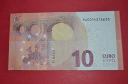 10 EURO NETHERLANDS P001B1 - Draghi - P001 B1 - PA0014216633 - UNC - NEUF - FDS - EURO