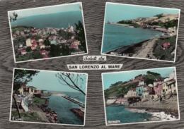 SAN LORENZO AL MARE -IMPERIA - CARTOLINA VIAGGIATA- FG- - Italy