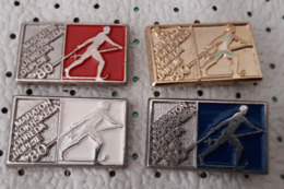 Cross-country Skiing Maraton  Slovenia Ex Yugoslavia Pins - Wintersport