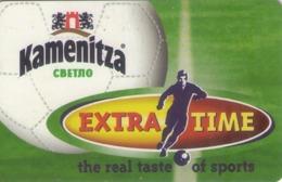 BULGARIA. BEER - CERVEZA - BIER. Kamenitza Beer - Football, 10/02, MOB-P-0099. (088). - Sport