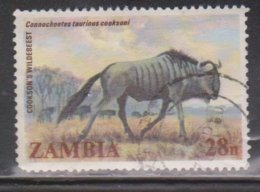 ZAMBIA Scott # 285 Used - Wildebeast - Zambia (1965-...)