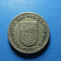 Portuguese Moçambique 50 Centavos 1936 - Portugal