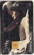 MEXICO - Arte Prehispanico/Caballero Aguila(2/6), Chip GEM1.2, 07/95, Used - Mexico