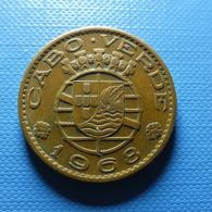 Portuguese Cabo Verde 1 Escudo 1968 - Portugal