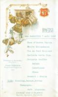 Beau Menu Pub Ancien DOMAINE GERTWILLER Du 7 Août 1928 - Menus