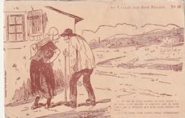 ***  Illustrateur  ***  Au Village Par René Billaud Neuve TTB - Other