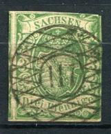 20197) SACHSEN # 2 Gestempelt Aus 1851, 120.- € - Sachsen