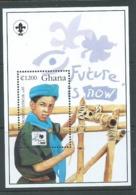 Ghana 1995 Boy Scout Jamboree Miniature Sheet MNH - Ghana (1957-...)