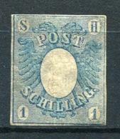 20209) SCHLESWIG HOLSTEIN # 1 Gefalzt Aus 1850, 400.- € - Schleswig-Holstein