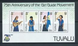 Tuvalu 1985 Girl Guide Miniature Sheet MNH - Tuvalu