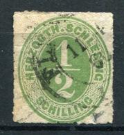 20214) SCHLESWIG HOLSTEIN # 13 Gestempelt Aus 1865, 70.- € - Schleswig-Holstein