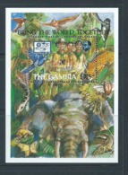 Gambia 1987 Boy Scout Jamboree Miniature Sheet MNH - Gambia (1965-...)
