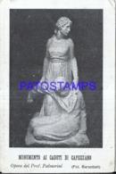 122712 ITALY MONUMENT THE FALLEN OF CAPEZZANO BREAK POSTAL POSTCARD - Non Classificati