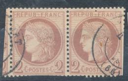 N°51 NUANCE ET OBLITERATION. - 1871-1875 Ceres