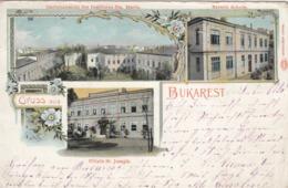 Gruss Aus BUKAREST , Romania, 1890s - Roumanie