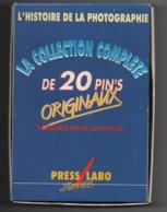 Pin's EGF, Coffret Press Labo, L'histoire De La Photographie...BT14 - Fotografie