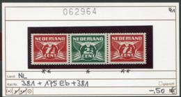 Niederlande - Nederland - Pays-Bas - Michel 381/175Eb/381 Zusammendruck - */** Mnh Neuf Postfris - Nuovi