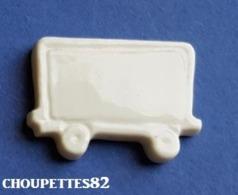 Fèves Fève Train /wagon Blanc Plate *655* - Sorpresine