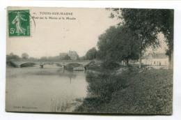CPA 51 : TOURS Sur MARNE  Le Pont Et Le Moulin  A   VOIR  !!!! - Autres Communes