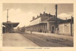 St Saint-Rambert-d'Albon (Drôme) La Gare - Cliché J. Ramet, Edition Mayaud - Carte N° 3 - Andere Gemeenten