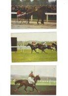 LOT DE 8 CARTES CALENDRIERS  POSTILLON  1967  CHEVAUX  ***      A SAISIR **** - Calendars