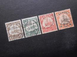 D.R.7 - 19/ 12  Deutsche Kolonien (Samoa)  1900   Mi 15,90 € - Colony: Samoa