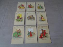 Beau Lot De 9 Cartes Postales De Belgique  Bruges  Tournoi De L' Arbre D' Or         9 Postkaarten Van Brugge - Cartes Postales