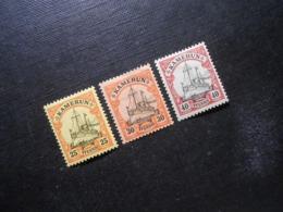 D.R.Mi 11**MNH/ 12+13*MLH - Deutsche Kolonien ( Kamerun ) 1900 - Mi 9,80 € - Kolonie: Kameroen